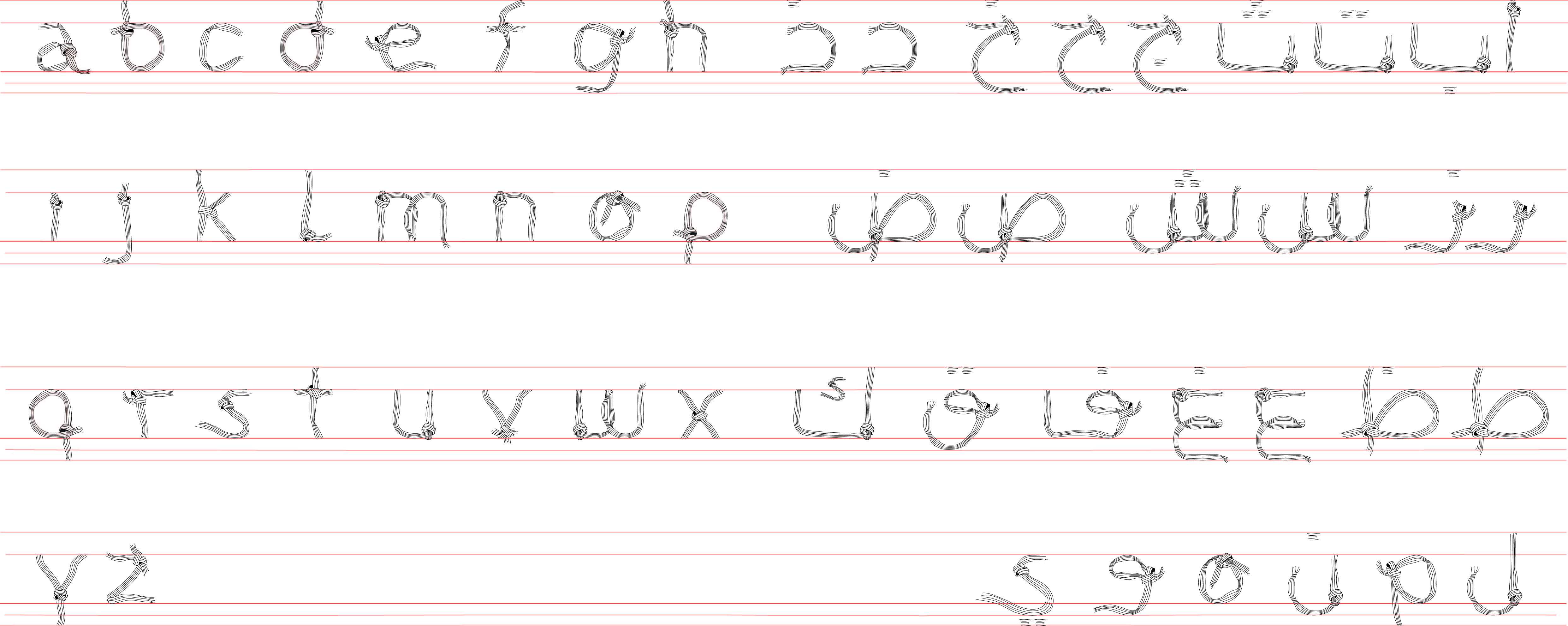 Laced- Arabe+Latin Typefaced